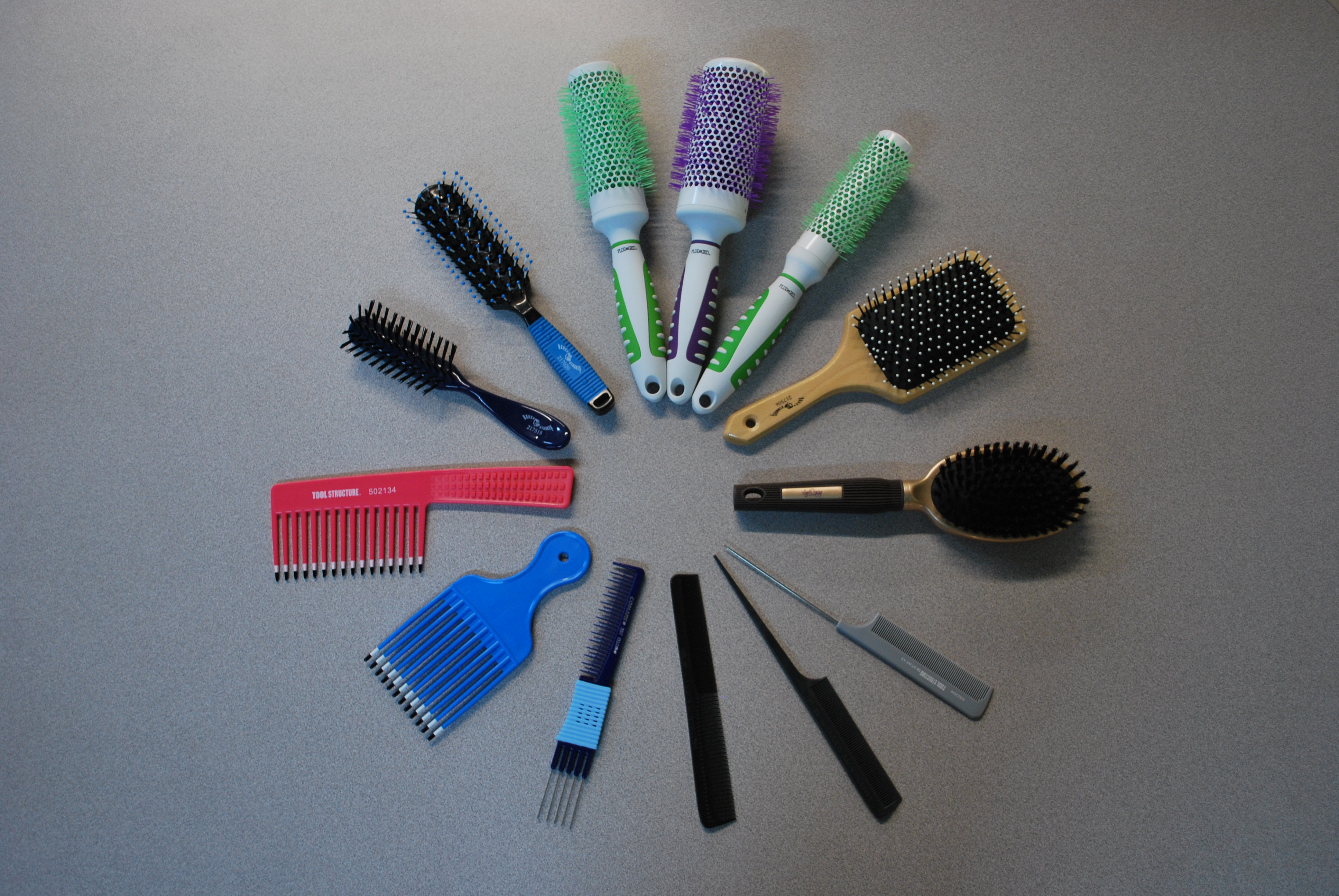 What's In My Kit? Part One: Brushes & Combs