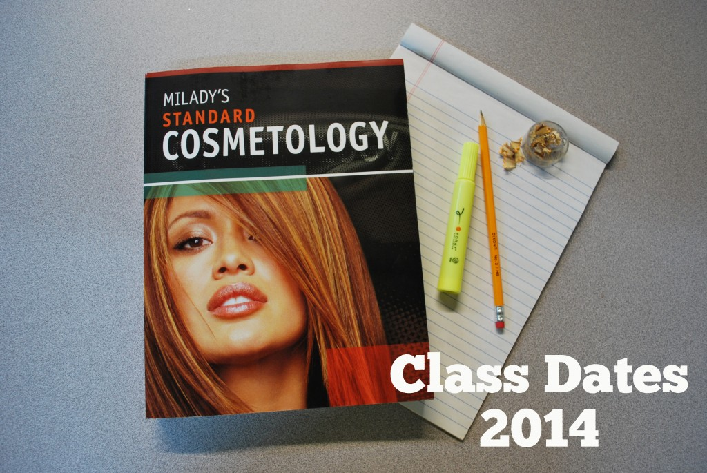 2014 Class Dates at Amber's Beauty School