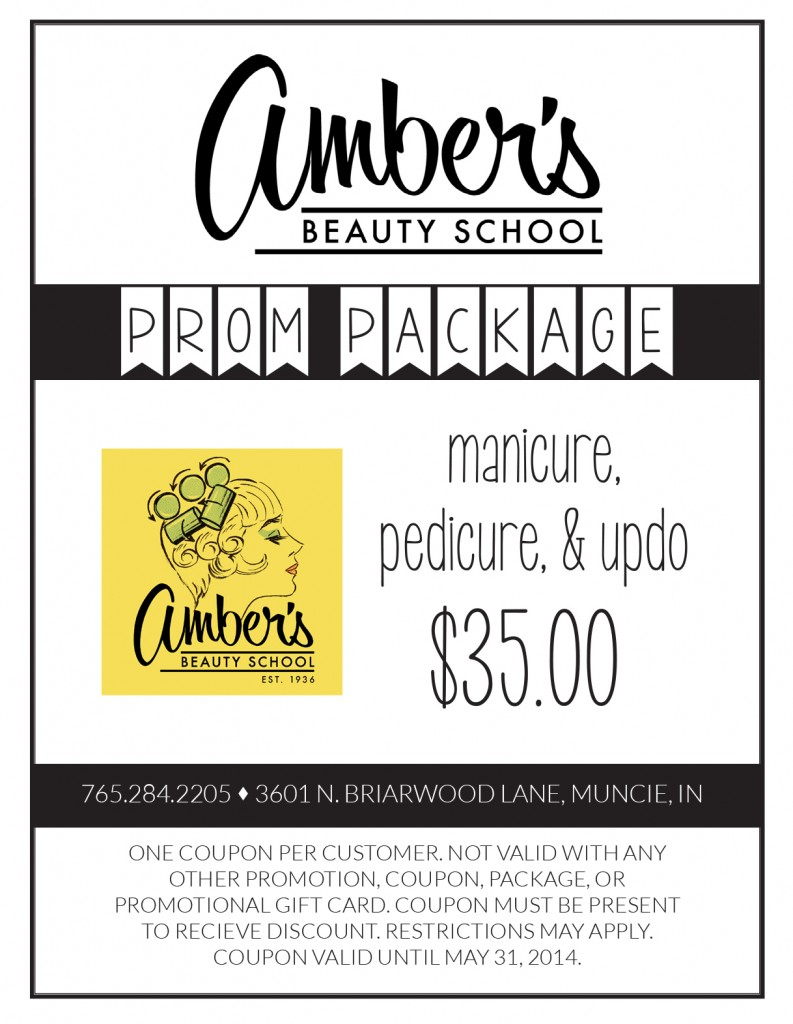 Amber's Beauty School Prom Package