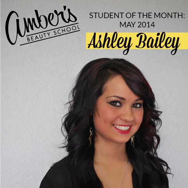 Amber's Beauty School: Student Of The Month: Ashley Bailey