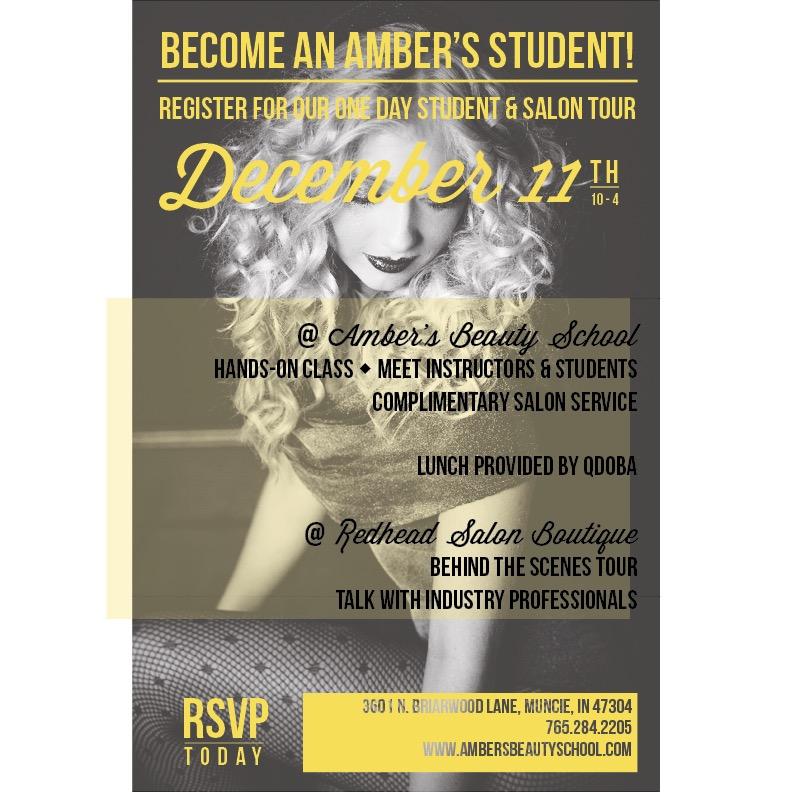Exclusive Amber's Beauty School Tour