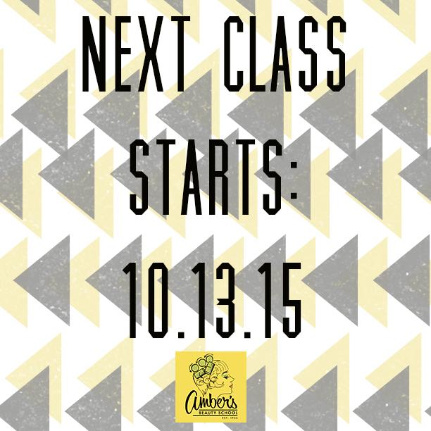 Amber's October Class